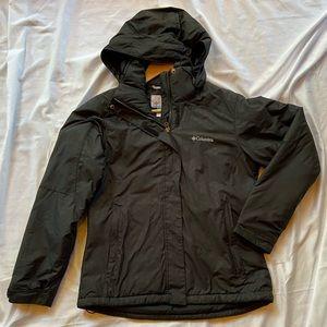 Black Columbia zip jacket